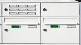 Briefkästen lizenzfreie stockbilder