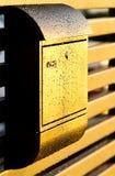 Moderne brievenbus Royalty-vrije Stock Afbeelding