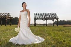 Moderne bruid Stock Foto