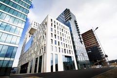 Moderne builidings in Oslo van de binnenstad 2 stock afbeeldingen