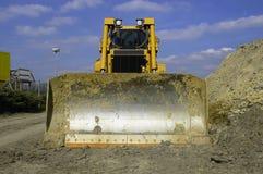 Moderne bulldozer Royalty-vrije Stock Foto's