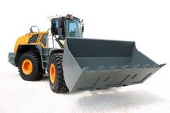 Moderne bulldozer Royalty-vrije Stock Afbeelding