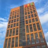 Moderne bureaugebouwen Stock Afbeeldingen