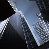 Moderne bureaugebouwen Stock Foto's