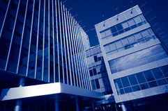 Moderne bureaugebouwen Royalty-vrije Stock Foto's