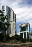 Moderne bureaugebouwen in Azië Royalty-vrije Stock Foto
