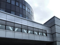 Moderne bureaugebouwen in Bodo Stock Afbeelding
