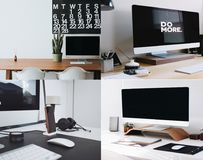 Moderne Bureaus Royalty-vrije Stock Foto
