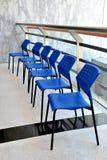 Moderne bureaustoelen Stock Foto's