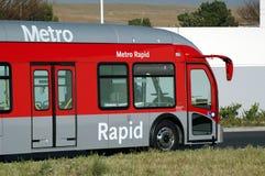 Moderne Bus Royalty-vrije Stock Afbeeldingen