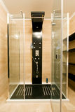 Moderne cabine van de glasdouche Royalty-vrije Stock Fotografie