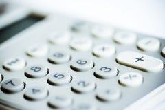 Moderne calculator Royalty-vrije Stock Foto