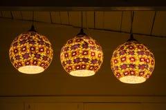 Moderne chinesische Lampe Stockfotografie
