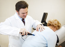 Moderne Chiropraktik-Instrumente Lizenzfreie Stockfotos