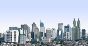Moderne cityscape royalty-vrije stock afbeeldingen