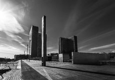 Moderne cityscape Stock Afbeeldingen
