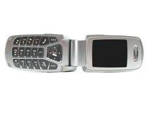 Moderne clamshelltelefoon Royalty-vrije Stock Foto's