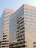 Moderne collectieve gebouwen Stock Foto's
