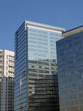 Moderne collectieve gebouwen Royalty-vrije Stock Afbeeldingen