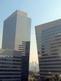 Moderne collectieve gebouwen Stock Foto