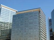 Moderne collectieve gebouwen Stock Fotografie
