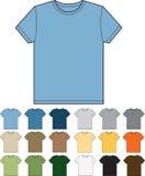 Moderne colourways van de t-shirt Royalty-vrije Stock Foto