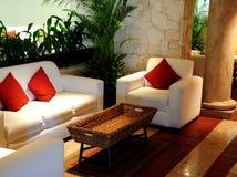 Moderne comfortabele ruimte Royalty-vrije Stock Afbeeldingen