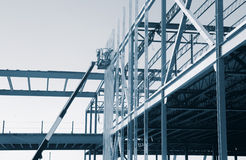Moderne commerciële bouwontwikkeling Royalty-vrije Stock Foto