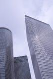 Moderne commerciële gebouwen Stock Foto's