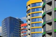 moderne commercial de constructions image stock