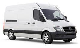 Moderne compacte bestelwagen royalty-vrije stock foto's