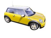 Moderne compacte stadsauto Stock Afbeeldingen