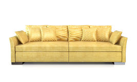 Moderne Couch. Stockfotografie