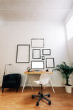 Moderne creatieve werkruimte Royalty-vrije Stock Afbeelding