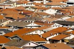 Moderne Dachspitzen lizenzfreie stockbilder