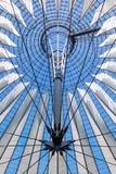 Moderne dakbouw Stock Afbeelding