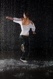 Moderne dansen. royalty-vrije stock afbeelding