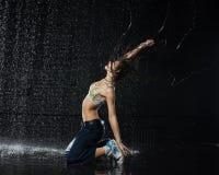 Moderne dansen. stock foto's