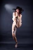 Moderne danser stock afbeeldingen