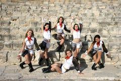 Moderne dansers Stock Foto