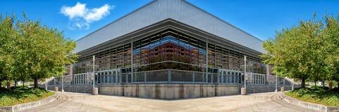 Moderne de bouw symmetrische montering Royalty-vrije Stock Afbeelding