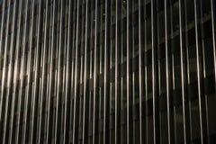 Moderne de bouw van het glasbureau bezinning Royalty-vrije Stock Foto's