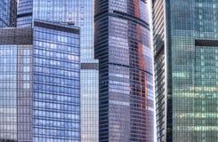 Moderne de bouwbezinningen Royalty-vrije Stock Afbeeldingen