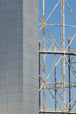 Moderne de bouwhuid Stock Foto