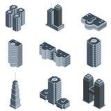 Moderne de bouwvector Royalty-vrije Stock Afbeeldingen