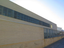 Moderne de bouwvoorzijde Stock Fotografie