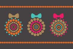 Moderne Dekorationkarte Lizenzfreie Stockbilder