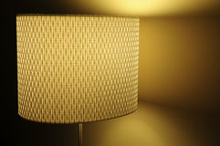 Moderne dekorative Lampe Lizenzfreies Stockbild