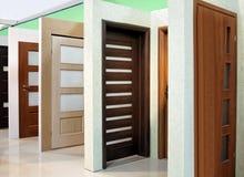 Moderne deur Royalty-vrije Stock Afbeeldingen