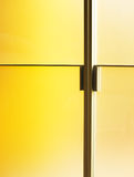 Moderne deur Royalty-vrije Stock Afbeelding